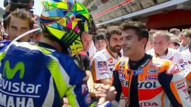 Rossi-Marquez, Lorenzo-Pedrosa, Capirossi-Harada, Melandri-Alzamora: motogp.com explores some famous feuds - and how they were solved