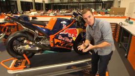 The Off Season Show discovers MotoGP's newest competitor born from steel as it goes inside KTM's Racing HQ