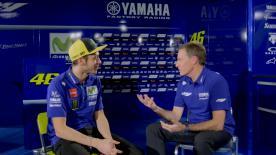 VR46 looks to the future at Movistar Yamaha MotoGP's team presentation in Madrid