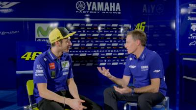 Focused forward: Rossi's thoughts at 2017 team launch