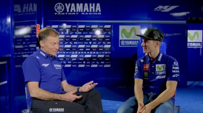 Viñales talks 2017 at Movistar Yamaha presentation