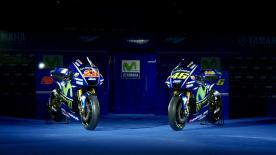 Reigning Team Champions Movistar Yamaha unveil their 2017 challenger