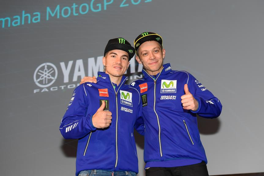 Movistar Yamaha MotoGP launch 2017 © photomilagro