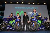 Movistar Yamaha MotoGP launch 2017 © photomilagro