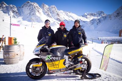 2017 team launch for Lüthi, Lecuona and Raffin