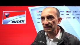 Ducati's CEO Claudio Domenicalli talks about Lorenzo joining their MotoGP™ effort