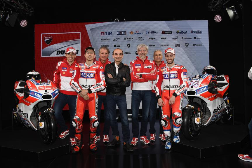 2017 Ducati Team MotoGP launch