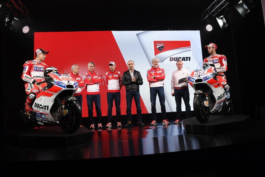 2017 Ducati Team MotoGP launch