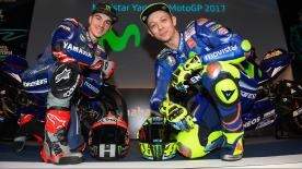 Rossi and Viñales on hand as the season ahead gets into gear at the team's official presentation in Madrid
