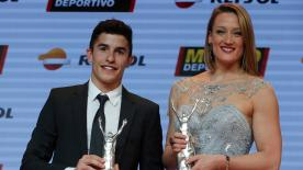 Repsol Honda rider talks 2017 at Mundo Deportivo awards in Spain