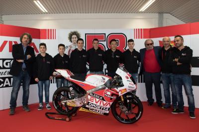 SIC58 Squadra Corse en route vers le Mondial Moto3™