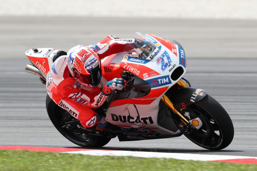 Sepang Private Test, Casey Stoner, Ducati Team