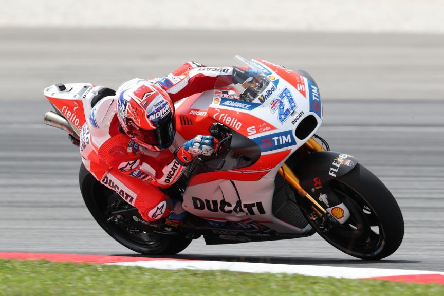 Sepang Private Test, Casey Stoner, Ducati Team