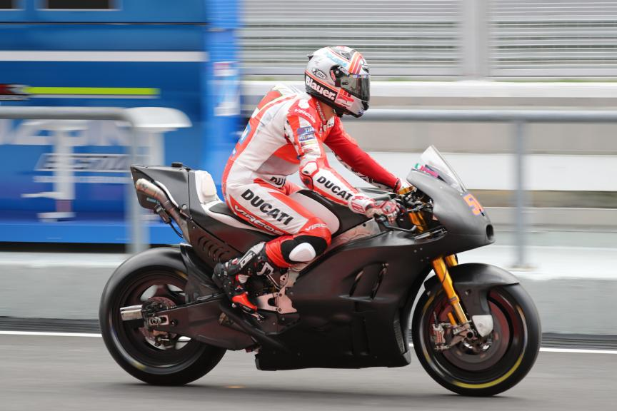 Sepang Private Test, Michele Pirro, Ducati Team