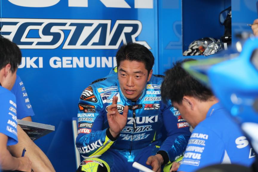 Sepang Private Test, Team Suzuki Box