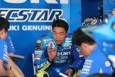 Sepang Private Test, Team Suzuki Box