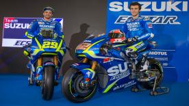 Discover the new line-up of Team Suzuki ECSTAR as they unveil their 2017 effort in Sepang ahead the first day of testing of the year