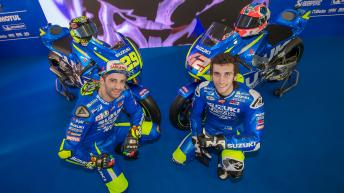 Suzuki Ecstar MotoGP team launch 2017