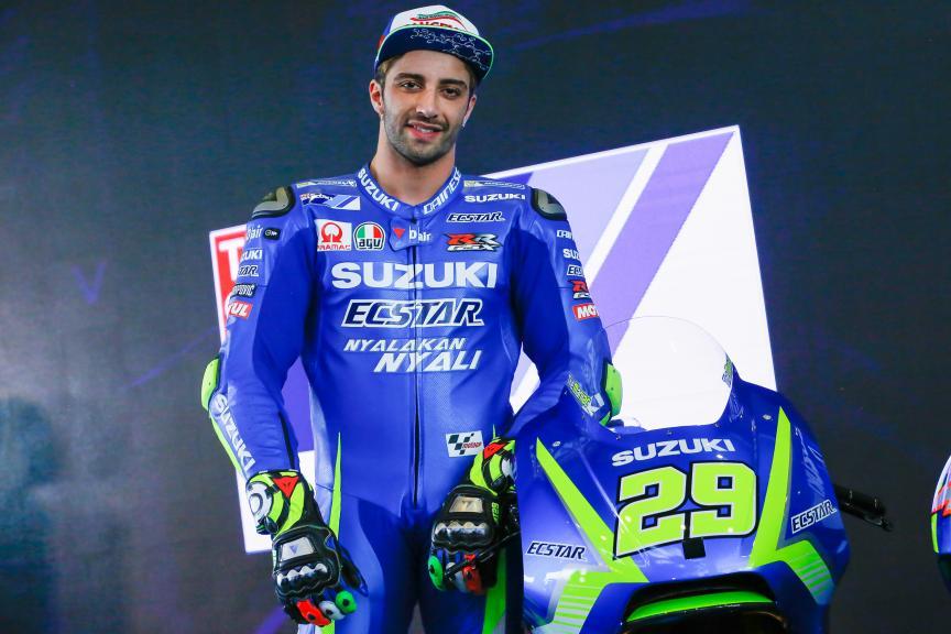 Andrea Iannone, Suzuki Ecstar MotoGP launch 2017