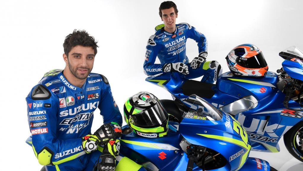 Andrea Iannone, Alex Rins - Team Suzuki ECSTAR