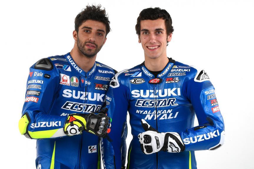 Andrea Iannone, Alex Rins, Suzuki Ecstar MotoGP, 2017