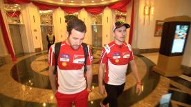 motogp.com tagged along Jorge Lorenzo as he headed to Sepang for his first of testing of the year with Ducati
