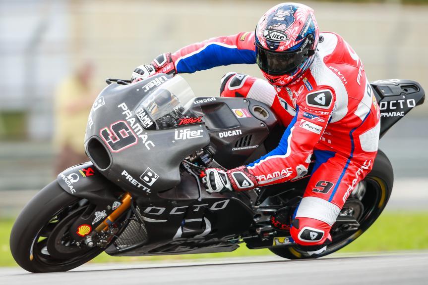 09 - Danilo Petrucci, OCTO Pramac Yakhnich, Sepang MotoGP™ Official Test