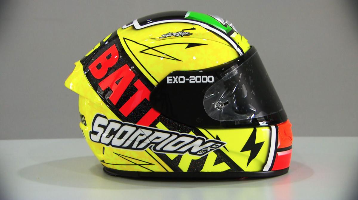 A Peek At The  Motogp Helmets Motogp