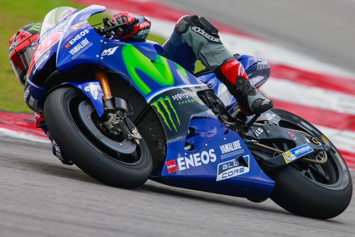 "Viñales: ""We made a good step today"" | MotoGP™"