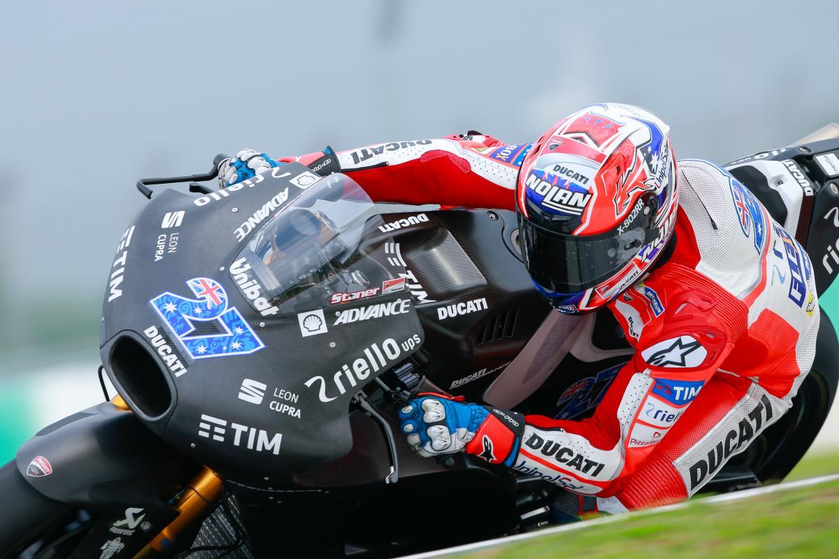 #27 back on top: Stoner fastest in Sepang   MotoGP™