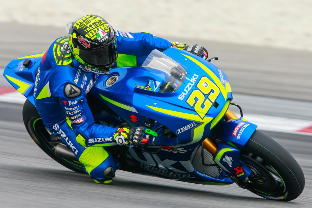 'Maniac' strikes back: Iannone fastest on Day 2 | MotoGP™