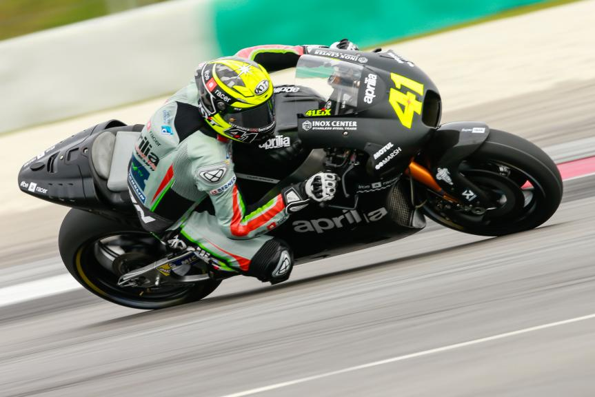 Aleix Espargaro, Aprilla Racing Team Gresini, Sepang MotoGP™ Official Test