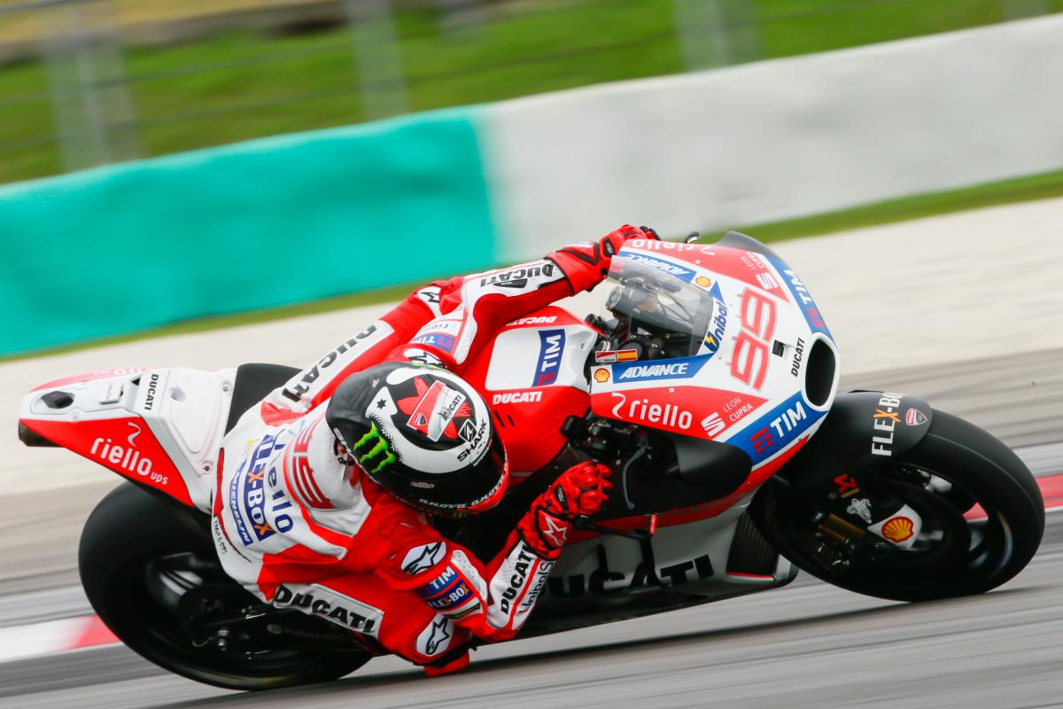 Lorenzo leaps up the timesheets on Day 2 | MotoGP™