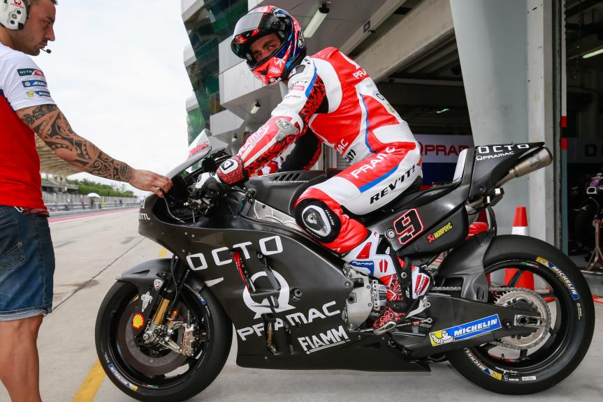 Danilo Petrucci, OCTO Pramac Yakhnich, Sepang MotoGP™ Official Test