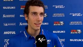 Rookie Alex Rins made steady progress during the Official Sepang Test but admits he need more mileage with the GSX-RR