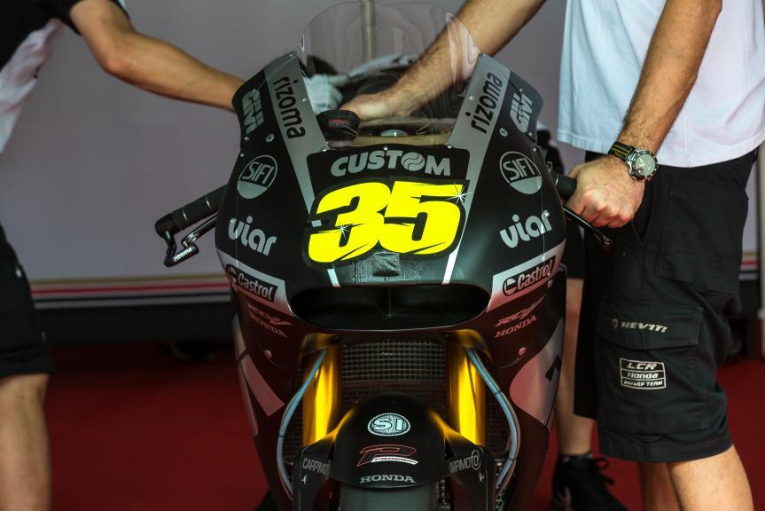 LCR Honda, Sepang MotoGP™ Official Test