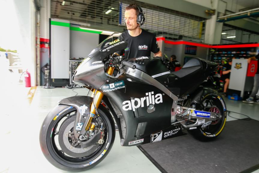Aprilla Racing Team Gresini, Sepang MotoGP™ Official Test
