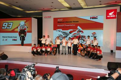 Repsol Honda launch the season in Indonesia