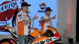 Repsol Honda presented their 2017 line-up in Jakarta, Indonesia on Friday, with Marc Marquez and Dani Pedrosa expecting to be top contenders for the MotoGP™ title