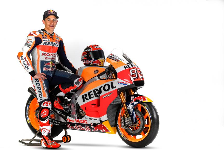 Marc Marquez, Repsol Honda Team Launch 2017