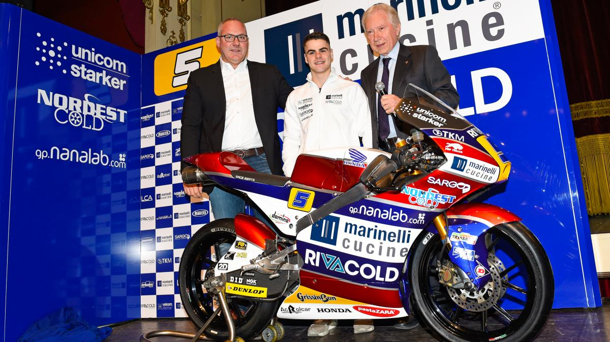 Marinelli Rivacold Snipers unveil 2017 Moto3™ Team