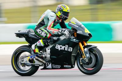 Albesiano hails step forward for Aprilia