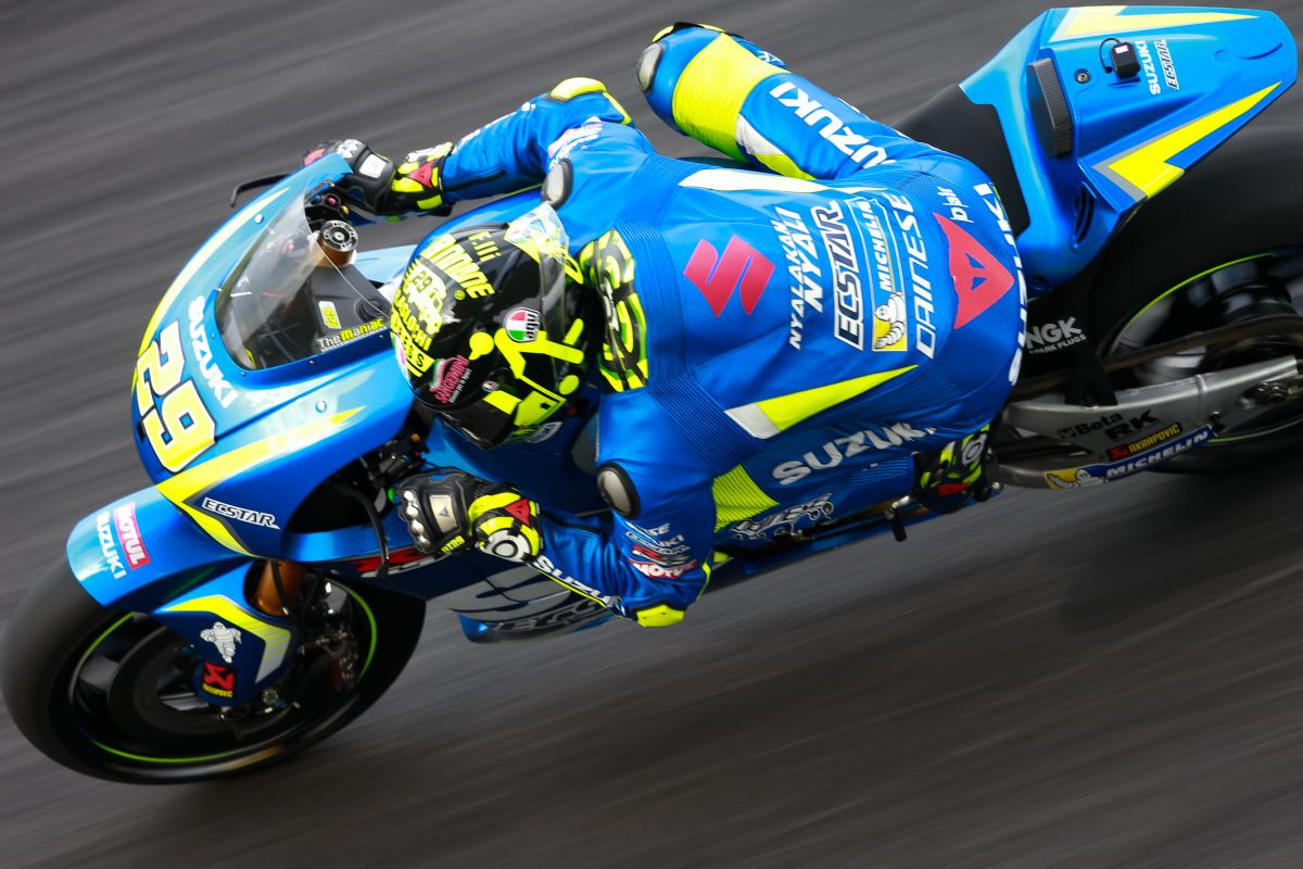 "Brivio on Suzuki: ""The new engine is better"" 
