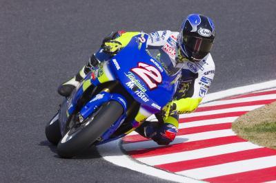 Roberts Jr y Lucchinelli se convierten en MotoGP™ Legends