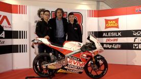 Paolo Simoncelli's team makes grand unveiling ahead of debut in the World Championship