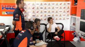 The former MotoGP™ rider talks about his role working with Repsol Honda's Dani Pedrosa this year