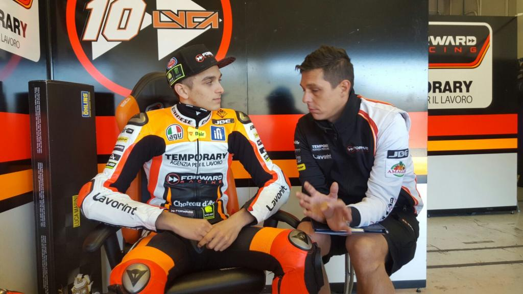 Luca Marini, Forward Team