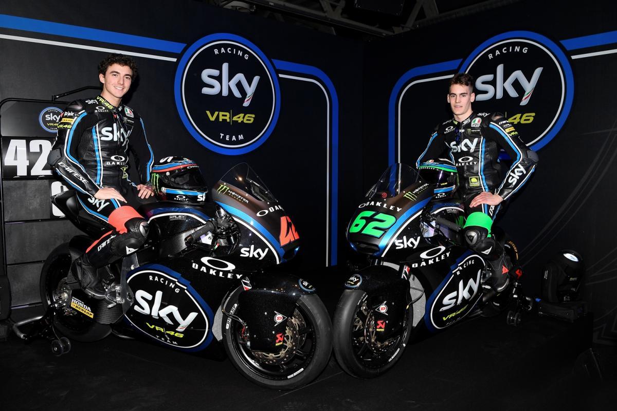 Sky Team VR46, è ora di Moto2™ | MotoGP™