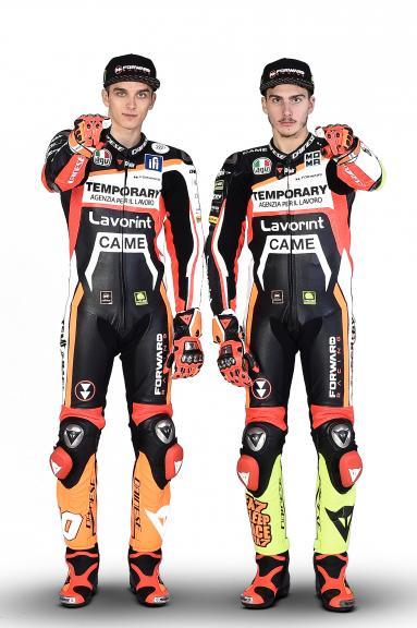 Lorenzo Baldassarri, Luca Marini, Forward Racing