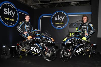 SKY Racing Team VR46 revela sus armas de Moto3™